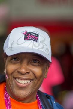 pink hat 2013 Atlanta Susan G. Komen 3-Day Breast Cancer Walk