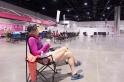 indoor camping lounge 2013 Atlanta Susan G. Komen 3-Day Breast Cancer Walk