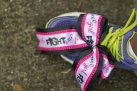 flight like a girl shoe lace 2013 Atlanta Susan G. Komen 3-Day Breast Cancer Walk