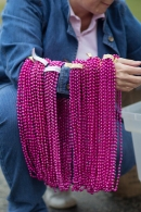 pink beads 2013 Atlanta Susan G. Komen 3-Day Breast Cancer Walk