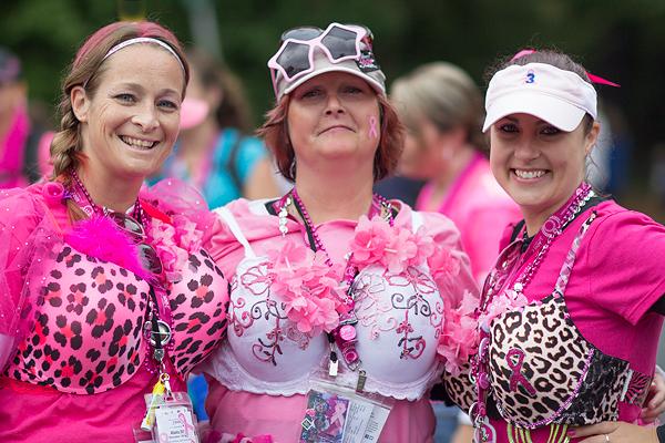 pink bra 2013 Atlanta Susan G. Komen 3-Day Breast Cancer Walk