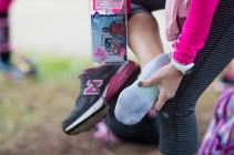 new balance shoes socks feet 2013 Atlanta Susan G. Komen 3-Day Breast Cancer Walk