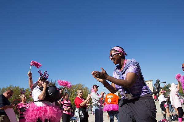 celebrate clap 2013 Atlanta Susan G. Komen 3-Day Breast Cancer Walk