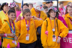 youth corps 2013 Tampa Bay Susan G. Komen 3-Day breast cancer walk