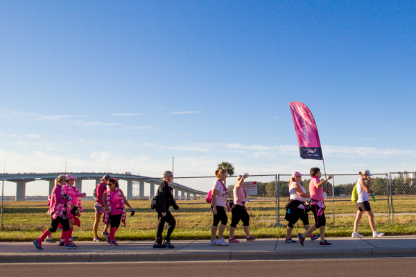 bridge 2013 Tampa Bay Susan G. Komen 3-Day breast cancer walk