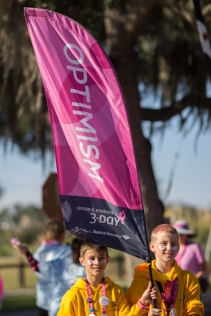 optimism 2013 Tampa Bay Susan G. Komen 3-Day breast cancer walk