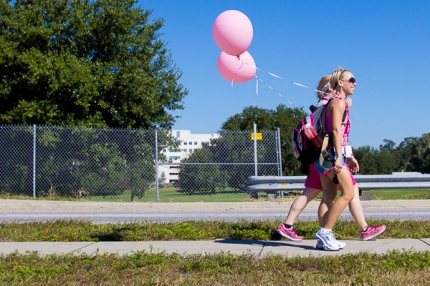 Stephaney and Christina walk the 60-mile route of the Tampa Bay 3-Day