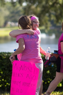 hug 2013 Tampa Bay Susan G. Komen 3-Day breast cancer walk