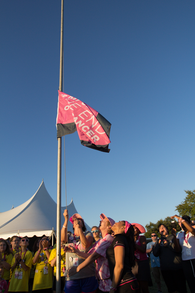Was breast cancer walk in tampa topic, pleasant