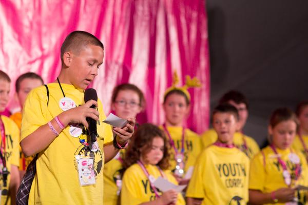 youth corps camp show 2013 Tampa Bay Susan G. Komen 3-Day breast cancer walk