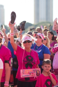 closing 2013 Tampa Bay Susan G. Komen 3-Day breast cancer walk