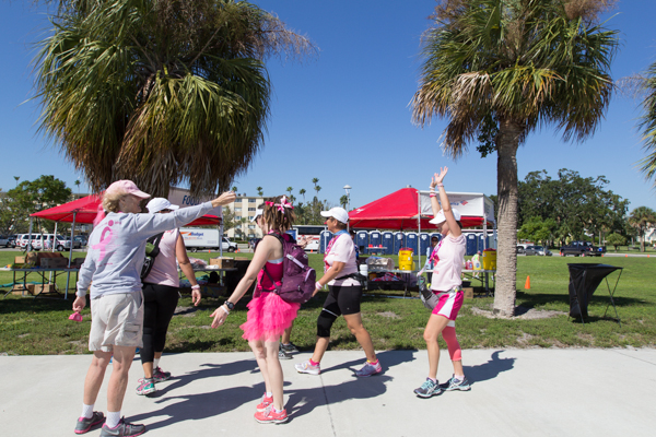 pit stop 2013 Tampa Bay Susan G. Komen 3-Day breast cancer walk