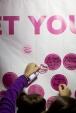 in honor of goal wall 2013 Dallas Fort Worth Susan G. Komen 3-Day breast cancer walk