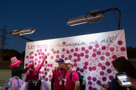 inspire goal wall 2013 Dallas Fort Worth Susan G. Komen 3-Day breast cancer walk