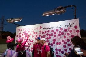 inspire goal wall 2013 Dallas Fort Worth Susan G. Komen 3-Day breast cancer walk
