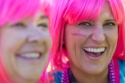 pink wig survivor 2013 Dallas Fort Worth Susan G. Komen 3-Day breast cancer walk