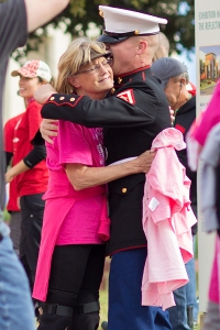 hug marine 2013 Dallas Fort Worth Susan G. Komen 3-Day breast cancer walk