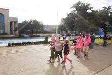 closing 2013 Dallas Fort Worth Susan G. Komen 3-Day breast cancer walk