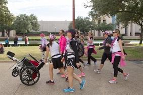 wheelchair closing 2013 Dallas Fort Worth Susan G. Komen 3-Day breast cancer walk