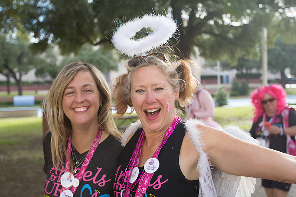 angel halo 2013 Dallas Fort Worth Susan G. Komen 3-Day breast cancer walk