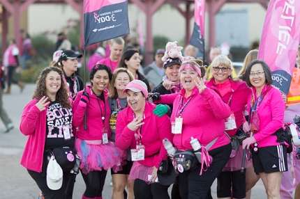 Team 'Ortho Arizona' starts its 60-mile journey on the Komen 3-Day in Arizona