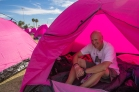 John Shinar Pink Tent Susan G. Komen 3-Day Breast Cancer Walk