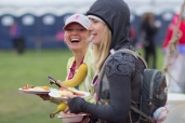 camp food dining 2013 San Diego Susan G. Komen 3-Day breast cancer walk