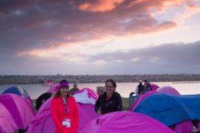 pink tent camp 2013 San Diego Susan G. Komen 3-Day breast cancer walk