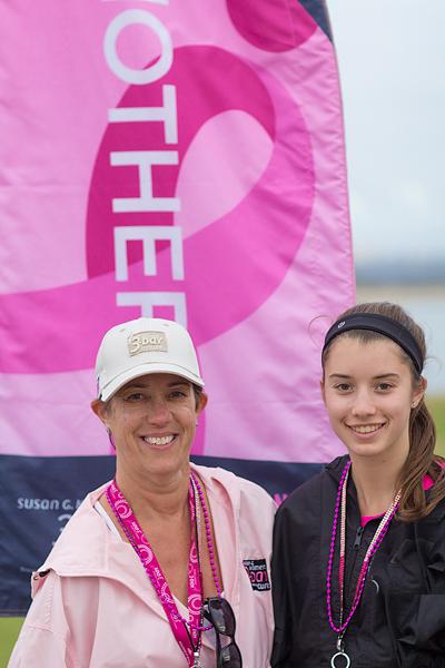 Julie and Jordan finish off Day 2 on the Susan G. Komen San Diego 3-Day