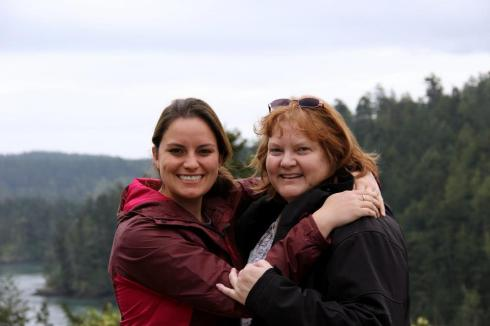 samantha and mom