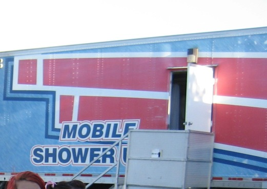 mobile shower