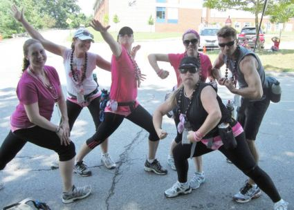 Komen_3Day_silly team picture