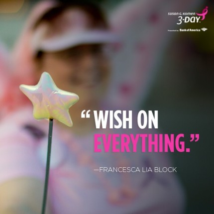 Wish on Everything Francesca Lia Block Inspirational Quote