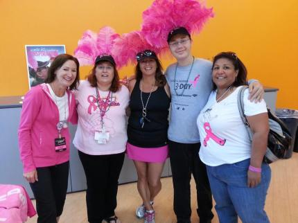 2014 susan g. komen 3-day breast cancer walk san diego viva las boobies