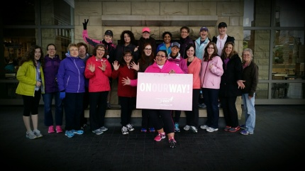 2014 susan g. komen 3-day breast cancer walk seattle training