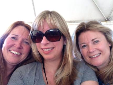 """Sarah E., with Rose T. and Michelle B.: """"Arizona 3-Day 2013 with the girls!"""""""