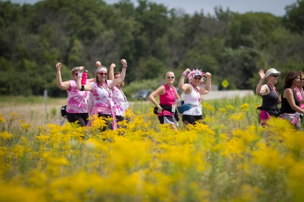 susan g. Komen 3-Day breast cancer walk fundraising resolve