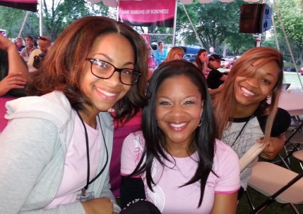 susan g. komen 3-day breast cancer walk dr. sheri prentiss mother's day