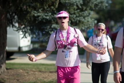 susan g. komen 3-day breast cancer walk man bra