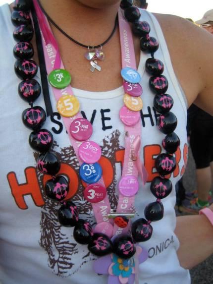 susan g. komen 3-day breast cancer walk legacy pins
