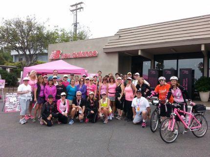 susan g. komen 3-Day breast cancer walk training san diego