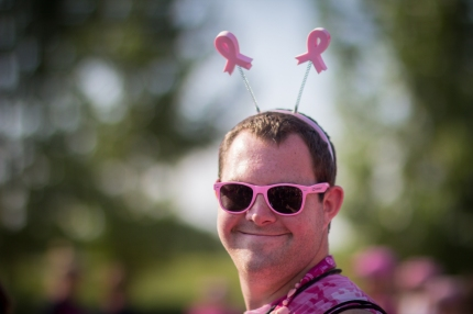susan g. komen 3-day breast cancer walk reasons why it's great to be a guy on the 3-Day porta potty