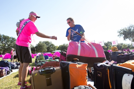 susan g. komen 3-day breast cancer walk reasons why it's great to be a guy on the 3-Day gear bag