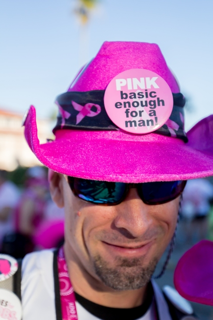 susan g. komen 3-day breast cancer walk reasons why it's great to be a guy on the 3-Day wear pink