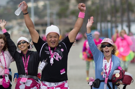 susan g. komen 3-day breast cancer walk reasons why it's great to be a guy on the 3-Day real housewife
