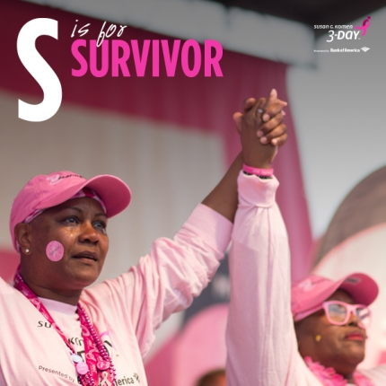 susan g komen 3-Day breast cancer walk abcs of the 3-Day S survivors