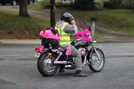 susan g. komen 3-Day breast cancer walk blog crew motorcycle bra