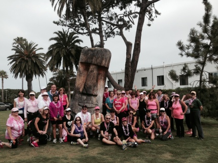 susan g. komen 3-Day breast cancer walk training san diego