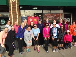 susan g. komen 3-Day breast cancer walk twin cities training