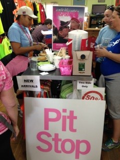 susan g. komen 3-Day breast cancer walk twin cities training pit stop